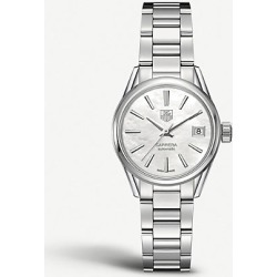 WAR2411. ba0770 Carrera stainless steel and mother-of-pearl watch