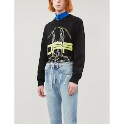 Harry The Bun brand-pattern cotton-blend jumper found on Bargain Bro Philippines from Selfridges US for $200.00