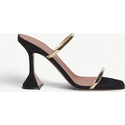 Henson metallic-embellished suede heeled sandals found on MODAPINS from Selfridges US for USD $890.00