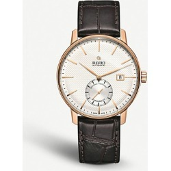 R22881025 Coupole Classic rose gold-plated and leather chronograph watch found on Bargain Bro India from Selfridges US for $1935.00