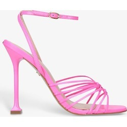 Glowing leather heeled sandals found on Bargain Bro India from Selfridges US for $76.00