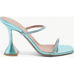 Gilda crystal-embellished metallic-leather heeled sandals found on MODAPINS from Selfridges US for USD $915.00