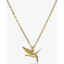 Alex Monroe Teeny Tiny Hummingbird 18ct gold necklace found on MODAPINS from Selfridges US for USD $560.00