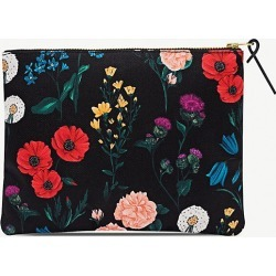 Blossom-pattern zipped canvas case 16.5cm x 21.5cm found on Bargain Bro Philippines from Selfridges US for $27.50