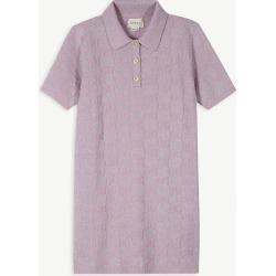 Lurex polo dress 6-12 years