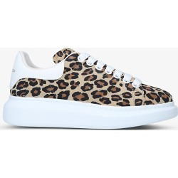 Women's Runway oversized leopard-print leather trainers found on Bargain Bro India from Selfridges US for $560.00
