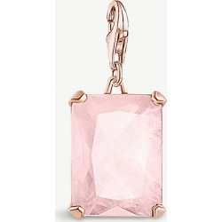 Magic Stones rose gold-plated sterling silver and rose quartz charm found on Bargain Bro India from Selfridges US for $113.00