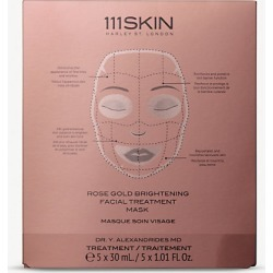 Rose Gold Brightening facial treatment set of five masks