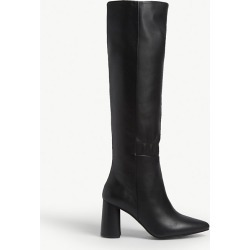 Audrey leather knee high boots