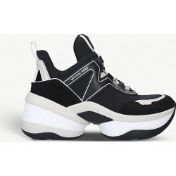 Monroe leather and suede trainers found on Bargain Bro India from Selfridges US for $177.00
