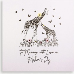 To Mummy With Love On Mother's Day Mother's Day card 16cm x 16cm