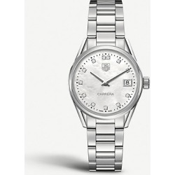 War1314. ba0773 Carrera stainless steel and mother-of-pearl watch