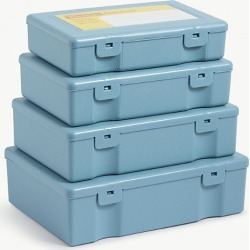 Penco stackable storage containers set of four