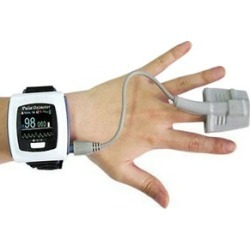 Wrist Oximeter with Rechargeable Battery with Bluetooth Connectivity CMS-50F