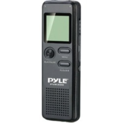 PYLE PVR300 Rechargeable Digital Voice Recorder with USB & PC Interface