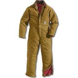 Carhartt Duck Quilt-Lined Coveralls