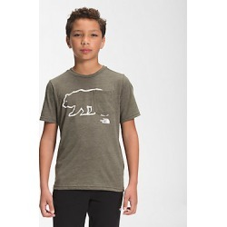Boys SS Tri-Blend Tee 7D0 L found on Bargain Bro India from The North Face for $25.00