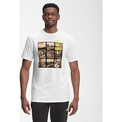 Mens Base Fall Graphic Short Sleeve Tee FN4 L found on Bargain Bro India from The North Face for $29.00