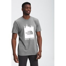 Mens NYC Short Sleeve Crew Neck Tee DYY M found on Bargain Bro India from The North Face for $25.00