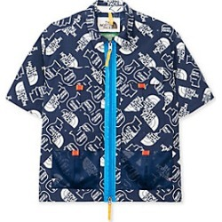 TNF X BRAIN DEAD 76 Boxy Short Sleeve Mountain Shirt WF3 M found on Bargain Bro Philippines from The North Face for $250.00