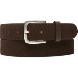 Timberland Suede Leather Belt For Men In Brown Brown, Size XL found on Bargain Bro UK from Timberland (UK)