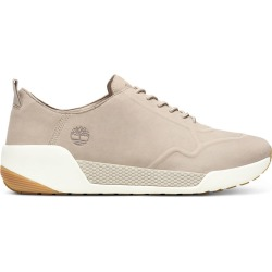 Timberland Basket Oxford Kiri Up En Cuir Pour Femme En Taupe Taupe, Taille 38