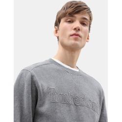 Timberland Taylor River Rundhals-sweatshirt Für Herren In Dunkelgrau Dunkelgrau, Größe S