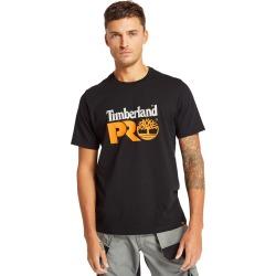 Timberland Pro® Cotton Core T-shirt Für Herren Schwarz, Größe 3XL