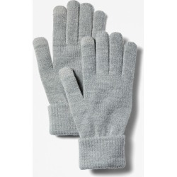 Timberland Touchscreen Gloves For Men In Grey Grey, Size ONE found on MODAPINS from Timberland (UK) for USD $17.50