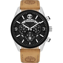 Timberland Ellswood Watch For Men In Black/beige No Color, Size ONE found on MODAPINS from Timberland (UK) for USD $227.07