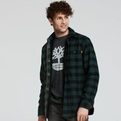 Men's Slim Fit Fleece-Lined Overshirt