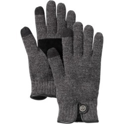 Men's Mixed-Media Touchscreen Gloves