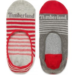 Timberland Two Pairs Paugus Bay Shoe Liners For Men In Red Red, Size M found on Bargain Bro UK from Timberland (UK)