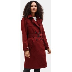 Timberland Mount Mitten 2 In 1 Trenchcoat For Women In Dark Red Dark Red, Size S found on Bargain Bro UK from Timberland (UK)