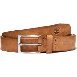 Timberland Washed-leather Belt With A Square Buckle For Men In Brown Brown, Size L found on Bargain Bro UK from Timberland (UK)