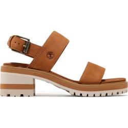 Timberland Violet Marsh Sandal For Women In Brown Brown, Size 5 found on Bargain Bro UK from Timberland (UK)