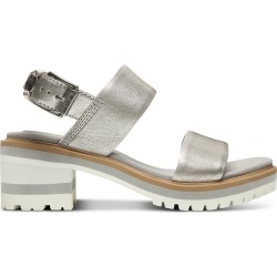 Timberland Violet Marsh Strap Sandal For Women In Silver Silver, Size 8 found on Bargain Bro UK from Timberland (UK)