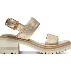 Timberland Violet Marsh Strap Sandal For Women In Gold Gold, Size 8 found on Bargain Bro UK from Timberland (UK)
