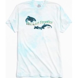 Kingdom Free Frontier Tee - Blue L at Urban Outfitters
