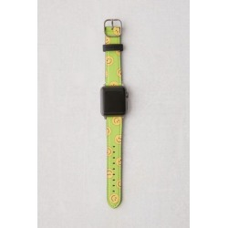 Casetify Happytown Acid Green Apple Watch Strap - Green S at Urban Outfitters