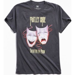Motley Crue Theater Of Pain Tee - Grey Xl at Urban Outfitters