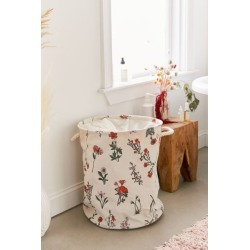 Georgina Floral Laundry Bag - Red at Urban Outfitters