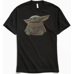 Star Wars Mandalorian Portrait Tee - Black L at Urban Outfitters