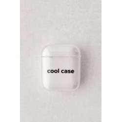 Printed Hard Shell AirPods Case - Clear at Urban Outfitters
