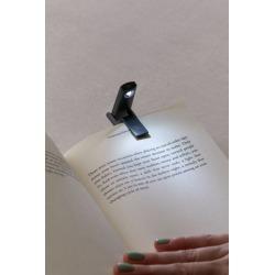 Kikkerland Design Mini Folding Book Light - Black at Urban Outfitters