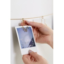 Hands Photo Clip Banner - Gold at Urban Outfitters