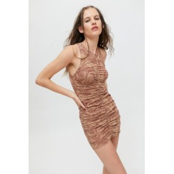 Motel Aeliran Ruched Bodycon Mini Dress found on MODAPINS from Urban Outfitters (US) for USD $59.00
