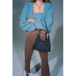 UO Soft Denim Shoulder Bag found on Bargain Bro India from Urban Outfitters (US) for $39.00