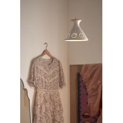 Penelope Ceramic Pendant Light - Beige at Urban Outfitters