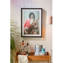 Getty Images Prince Live In LA Art Print - Black 16X22 at Urban Outfitters